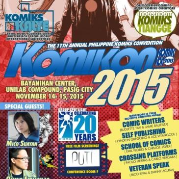 Komikon 2015