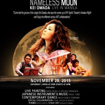 NAMELESS MOON | Kei Owada Live in Manila