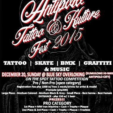Antipolo Tattoo and Kulture Fest 2015