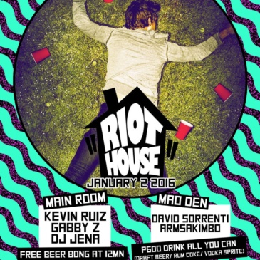 First RIOT HOUSE of the Year