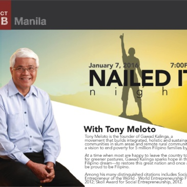 Nailed It Night: Tony Meloto