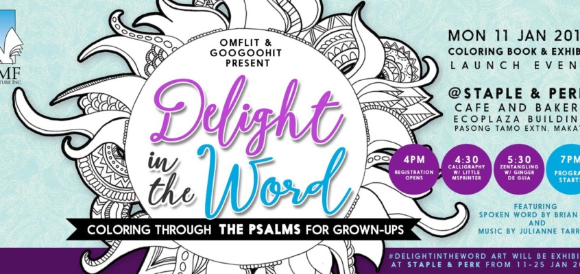 Delight in the Word launch