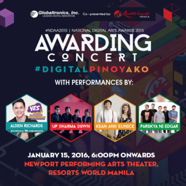 National Digital Arts Awards 2015 Awarding Concert