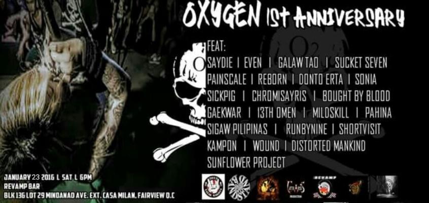 Musikalohiya XII : OXYGEN 1st Anniversary