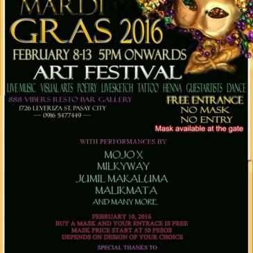 Mardi Gras 2016 Art Festival
