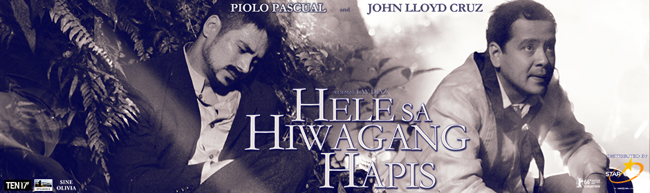 "Enthralling poster of 'Hele Sa Hiwagang Hapis' Here's the official Philippine poster of ""Hele Sa Hiwagang Hapis!"" Enthralling poster of 'Hele Sa Hiwagang Hapis' 940x280 The award-winning film ""Hele Sa Hiwagang Hapis,"" which will be distributed by Star Cinema in the Philippines, released its official poster today, March 10. The poster shows two of the most prominent actors of the country, Piolo Pascual and John Lloyd Cruz, in the middle of a forest. ""Hele Sa Hiwagang Hapis (A Lullaby To The Sorrowful Mystery)"" revolves around the desperate and harrowing 30-day search of Andres Bonifacio's widow, Gregoria de Jesus, to find his lost body in the mountains. Despite being sick, hungry, angry, lonely, and nearly mad, she searches for the truth behind her husband's death. Other cast members also include Angel Aquino, Cherie Gil, Alessandra de Rossi, Susan Africa, Bernardo Bernardo, Joel Saracho, and Hazel Orencio. Helmed by award-winning director Lav Diaz, ""Hele Sa Hiwagang Hapis"" is coming to cinemas starting March 26. Do this for the country and for yourself. Get ready for the challenge! #HeleSaHiwagangHapis Posted by ABS-CBN Film Productions Inc. (Star Cinema) on Tuesday, March 8, 2016 The ultimate online fan experience gets even better here at starcinema.com.ph. See other latest news here, visit our online store, and talk about your favorite stars, movies, and TV shows on Fans Speak! For more updates: Follow Star Cinema: Twitter: @StarCinema Instagram: starcinema Google Plus: ABSstarcinema Youtube: ABSstarcinema Facebook: StarCinema Snapchat: starcinema For more updates on your favorite Star Cinema movies, continue to visit www.starcinema.com.ph"