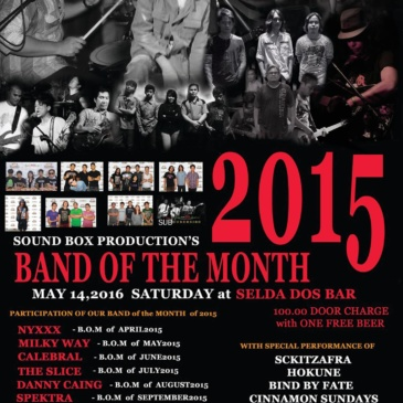 2015 Band of the Month