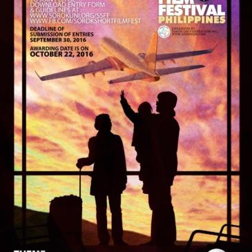3rd Sorok Short Film Festival: OFW:Lakbay-Puso