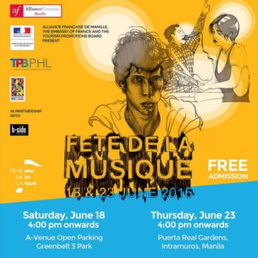 22nd Edition of Fête de la Musique in Manila