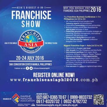Franchise ASIA Philippines 2016