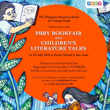 The 2016 NCBD Book Fair & Children's Literature Talks