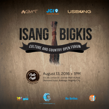 Isang Bigkis: Culture and Country Open Forum