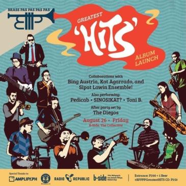 """Greatest """"Hits"""" – Brass Pas Pas Pas Pas Album Launch"""