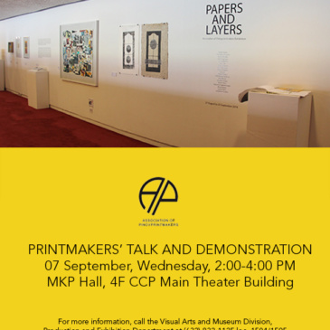 Printmakers' Talk and Demonstration