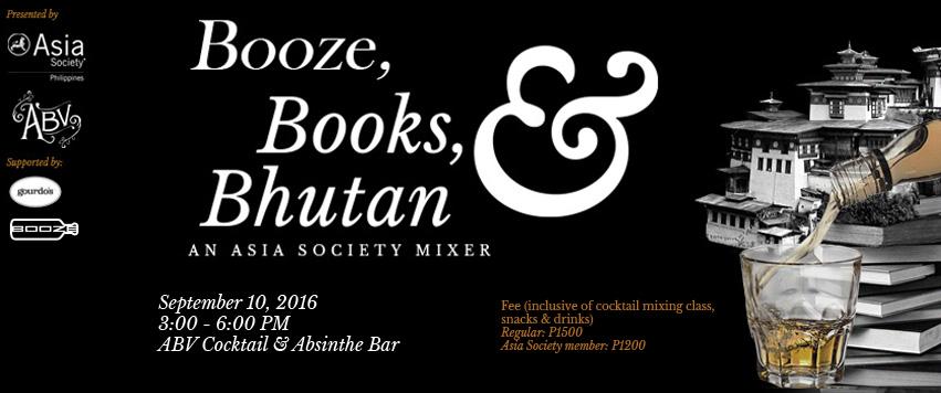 Booze, Books, & Bhutan