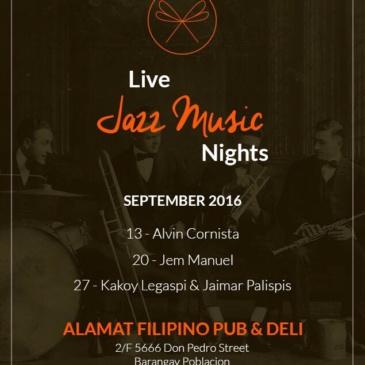 Live Jazz Music Nights