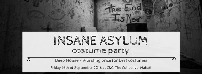 Insane Asylum Costume Party
