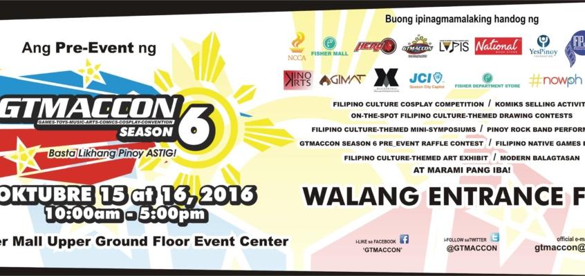 Ang Pre-Event ng GTMACCon Season 6