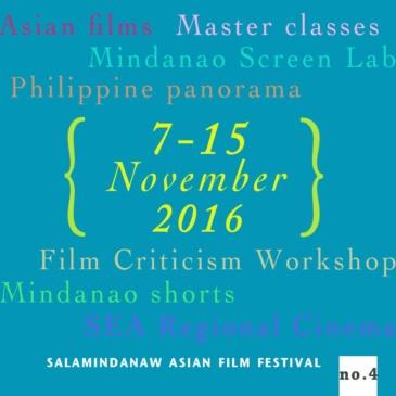 Salamindanaw Asian Film Festival 2016