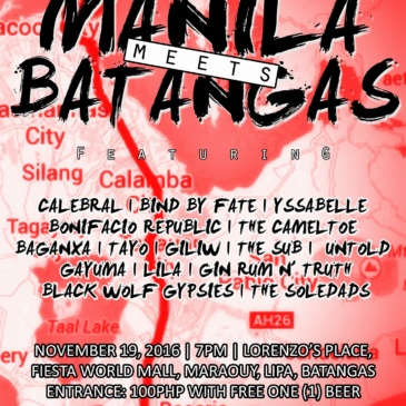 Manila meets Batangas