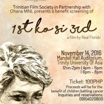 1st Ko Si 3rd Benefit Film Screening at TUA