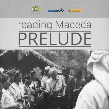 Exhibit I: reading Maceda, PRELUDE