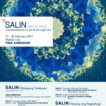 SALIN: Conversations on Art & through Art