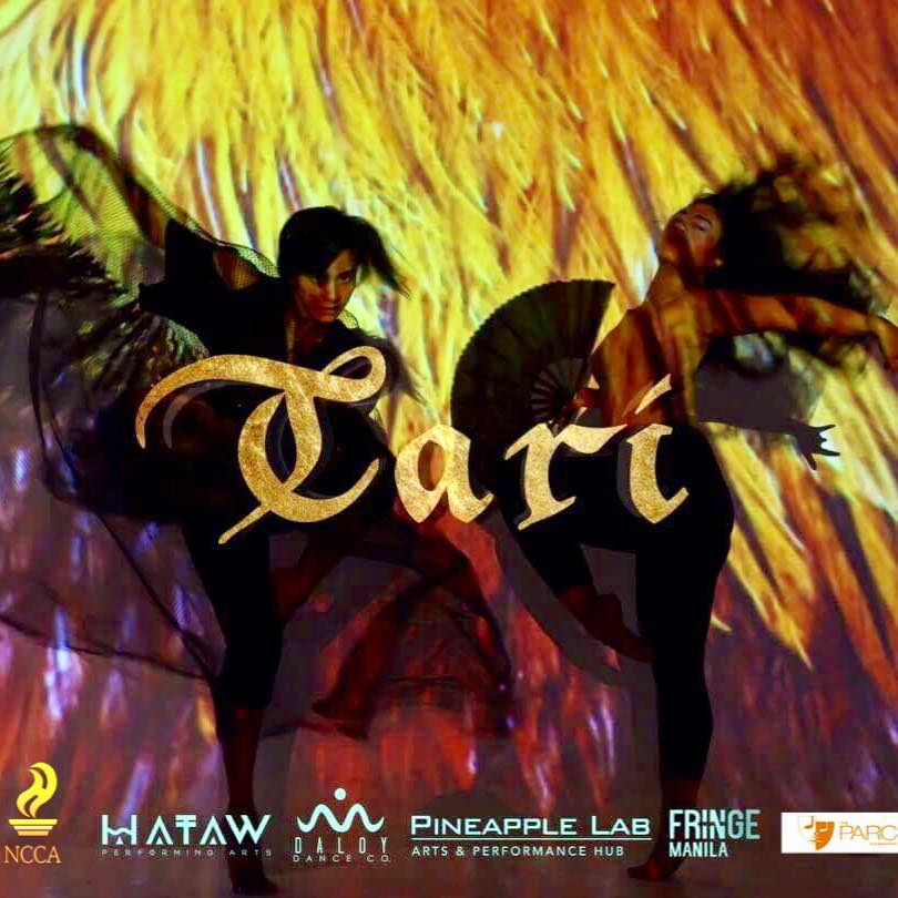 Daloy Dance Company Page Liked · February 17 · Edited ·   Catch our show, TARI! Tari is an exploration where reuweda plays centerstage—the primarily masculine domain of the sabong. The performance is a battlefield where two tribes unite; worlds collide as competition inevitably turns kindred. Tari - (work in progress collab with HATAW) 🗓Feb 25 📍Pineapple Lab, Makati 🎟Php 150 📞(0917) 819 2919