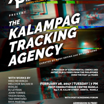 Xperimento Pelikula: The Kalampag Tracking Agency