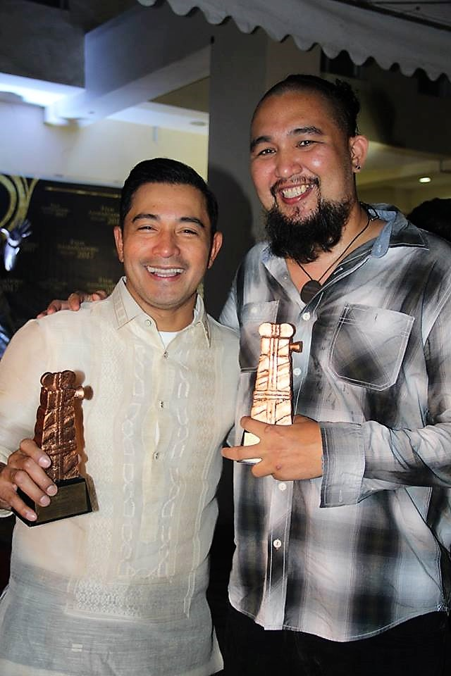 Film Ambassadors Cesar Montano and Sigfreid Barros-Sanchez