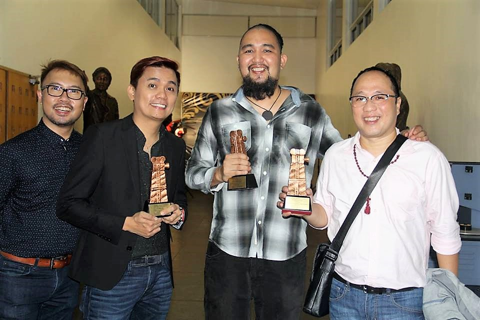 Film Ambassadors Perci Intalan, Jun Lana, Sigfreid Barros-Sanchez and Ferdinand Lapuz