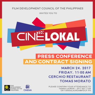 Cine Lokal Press Conference