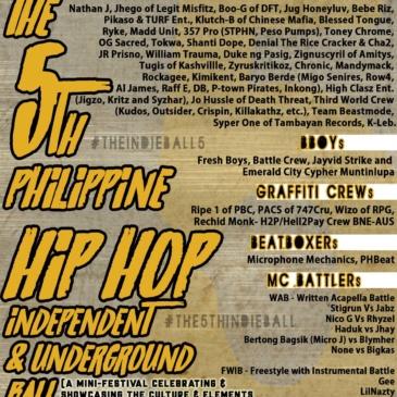 The 5th Philippine Hip-Hop Independent & Underground Ball