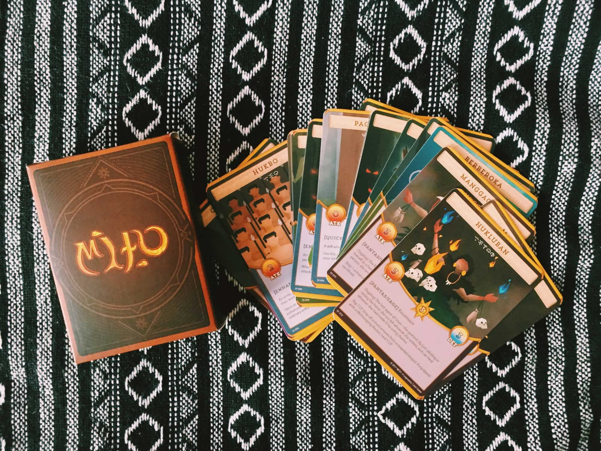 MITO_ A Legendary Card Game