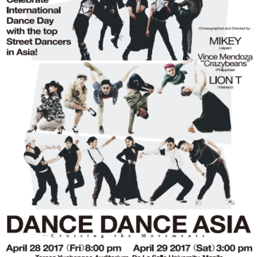 DANCE DANCE ASIA — Crossing the Movements