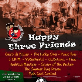 Sound Box Band of the Month: Happy Three Friends