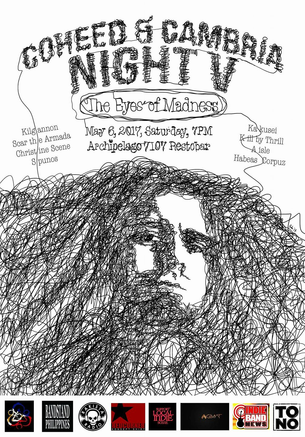 Coheed and Cambria Night V: The Eyes of Madness Saturday, May 6 at 7 PM - 1 AM May 6 at 7 PM to May 7 at 1 AM pin Show Map Archipelago 7107 El Pueblo Restaurant and lounge G/F El pueblo Real De Manila, Julia Vargas Street Corner Ruby Road, Ortigas,, 1605 Pasig About Discussion 37 Going · 51 InterestedSee All Zalyn is going Share Details Get ready for the yearly gathering of Coheed and Cambria fans in the Philippines as Coheed and Cambria - Philippines and TONO Events bring you: COHEED AND CAMBRIA NIGHT V: The Eyes of Madness May 6, 2017 (Saturday), 7pm at Archipelago 7107 El Pueblo Restaurant and lounge, Ruby Rd. Ortigas, Pasig City. Sing along and enjoy performances from: Kakusei Kill by Thrill Aisle Habeas Corpuz Kilgannon spunos Scar the Armada Christine Scene Gates open at 7pm. Tickets at P184 each with 1 free beer. Each ticket also qualifies as a raffle entry. Get to win awesome items including a shirt from Redcorner! This is going to be another unforgettable night! See you at the fence! *** We would like to thank our media partners: Rakista Radio Agimat: Sining at Kulturang Pinoy Bandstand Philippines Support Your Local Indie Scene Indie Band News Our poster artist: Paolo de Leon