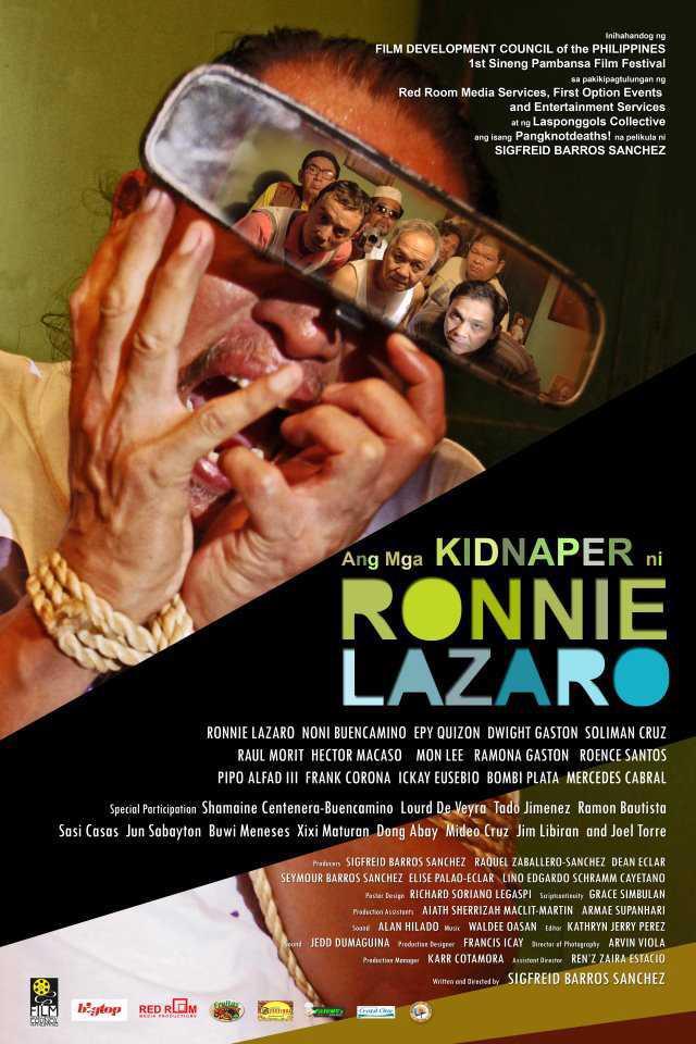Ang Mga Kidnaper Ni Ronnie Lazaro (Poster)