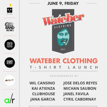 Wateber Clothing: T-SHIRT LAUNCH