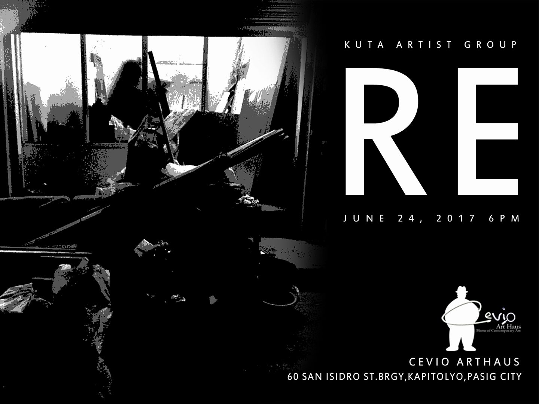 Jet RaiArtExpands Yesterday · RE | Kuta Artist Group Exhibition Opens tomorrow, Saturday June 24 6pm at Cevio Art Haus Participating artists are: MGA ANAK NG KUTA: MANONG JON SANTOS, SIEFRED GUILARAN, LYNDON MAGLALANG, DZEN SALINGA, CHRISTIAN CARILLAZA, GRETEL BALAJADIA, CEZAR CARDEL, AUI SUAREZ, FRANZ MARION VOCALAN, KATHLEEN GOBASCO & MARK FRANCISCO
