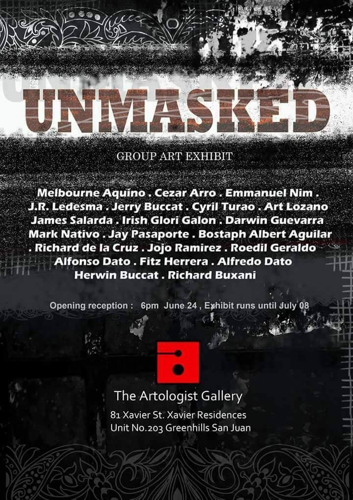 Jet Rai‎ArtExpands May 29 · UNMASKED group exhibition Opens on June 24, Saturday 6pm at The Artologist Gallery, San Juan Show runs until July 8, 2017