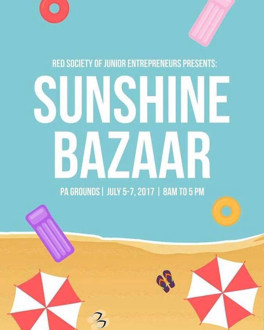 "Joedy Liza Cruel 10 hrs · Allowed on Timeline View on Instagram Bazaar happening inside Miriam College open to the public just mention ""Sunshine Bazaar"" #Miriam College #bazaar #societyofjuniorentrepreneurs — with Agos Maharlika at Miriam College (formerly Maryknoll)."