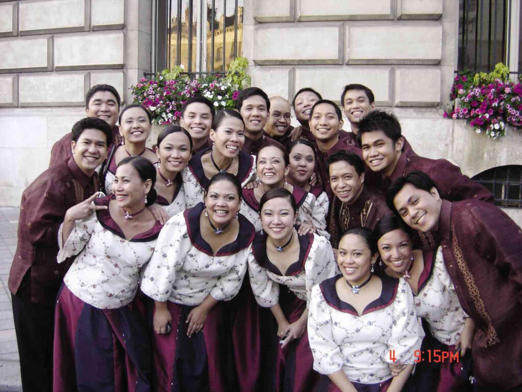THE PHILIPPINE Madrigal Singers at the Florilege Vocal de Tours France