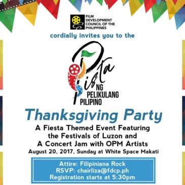 Pista ng Pelikulang Pilipino Thanksgiving Night