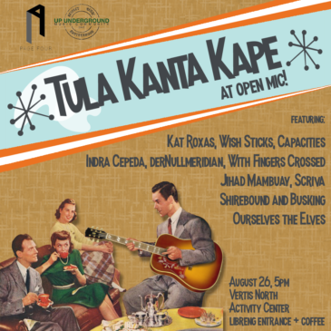 Tula Kanta Kape at Open Mic
