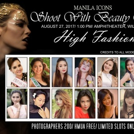 Shoot with Beauty Queens