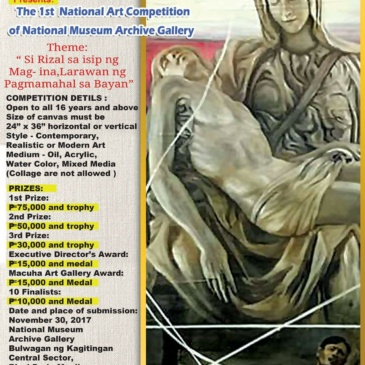 The 1st National Art Competition of National Museum Archive Gallery