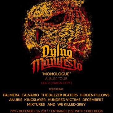 Dying Manifesto: Monologue Album Tour