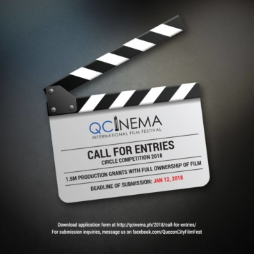 Call for Entries – QCinema Circle Competition 2018