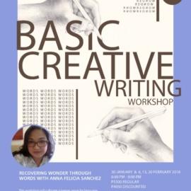 Basic Creative Writing: Recovering Wonder Through Words